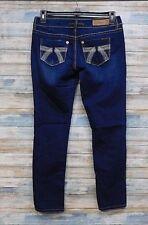 Seven7 Premium Jeans 28 x 29 Women's Skinny Stretch Button fly (K-63)