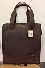 Dr. MARTENS UNISEX TOTE MARRONE SCURO GRIZZLY SMOOTH LEATHER