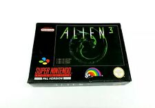 Super Nintendo Alien 3 Complete [FAH] Reg card included SNES