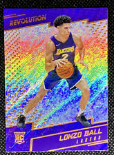 Lonzo Ball 2017-18 Panini Revolution #111 Rookie RC Los Angeles Lakers L1