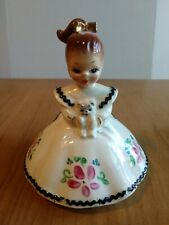 Vintage Josef Originals Mindy Holding Cat