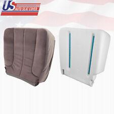 2002 2003 Dodge Ram 1500 SLT Driver Bottom Cloth Seat Cover and Foam Cushion Tan