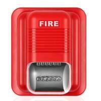 LED Sound -Light Fire Alarm Warning Strobe Siren Horn Alert Safety System Sensor