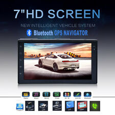 "7"" 2DIN Android 5.1 Quad Core GPS WIFI Bluetooth Car Radio Stereo HD Touch DVD"