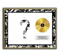 XXXTENTACION Poster, ? GOLD/PLATINIUM CD, gerahmtes Poster HipHop Rap WallArt