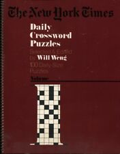 New York Times Daily Crossword Puzzles, Volume 1 (1977) UNUSED COPY