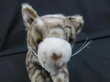 TARGET STRIPED KITTY CAT BLU-RAY CREAM WHISKERS POUNCING PLUSH STUFFED ANIMAL