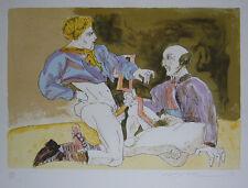 Masuo Ikeda Original lithograph S/N