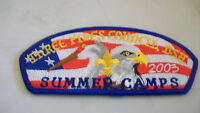 THREE FIRES COUNCIL SUMMER CAMPS 2003 CSP PATCH BLUE