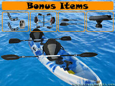 1 - 2 or 3 Seater Kayak Canoe Boat  *PACKAGE*  Fishing Recreational Fun !!