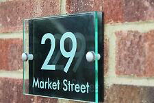 Oaklands Nero | MODERN HOUSE SIGN / PLAQUE / DOOR / NUMBER