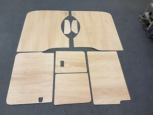 VW T5 Transporter Ply Lining Kit LWB - Barndoor - Interior Panels 3.6mm