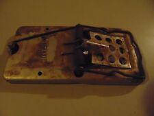 Vintage Lic-Lur Metal Mouse / Rat Trap
