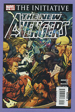New Avengers #29 2007 The Initiative Brian Michael Bendis Leinil Yu Marvel mDo