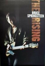 Bruce Springsteen 2002 Rising 2 sided promo poster Mint Condition New Old Stock