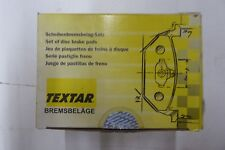 BRAND NEW TEXTAR BRAKE PADS 100.08100 / D810 FITS VEHICLES LISTED ON CHART