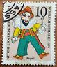 10+5 Pfg 1970 Wohlfahrtsmarke Kasperl Deutsche Bundespost Berlin MiNr. 373 (1G4)