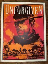 Original Unforgiven Clint Eastwood Xray Mondo Print Poster x/75