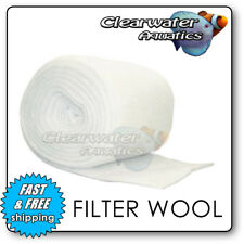 FILTER FLOSS WOOL MEDIA ROLL AQUARIUM POND FISH EXTERNAL TANK MARINE