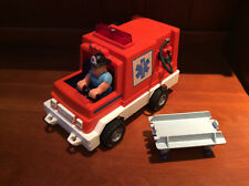 1982 F.P. #337 Husky Helpers Rescue Rig with Husky Fire Fighter and Gurney