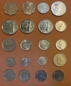 1953-2018-20 Coins:Vietnam,Thailand,Malaya & British Borneo,Philippines,Malaysia