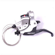 Shimano XT M750 Dual Control Left 3 speed Shifter Brake Lever Silver