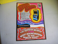 WILD CYCLE   ALLIED LEISURE     arcade game flyer