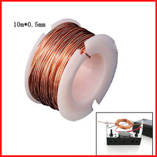 Magnetic Coil Winding Enameled Making Electromagnet Motor 10m Magnet Wire 0.5mm