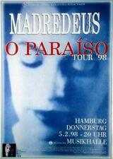 MADREDEUS - 1998 - Konzertplakat - Concert - O Paraiso - Tourposter - Hamburg