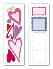 CUTTLEBUG Provo Craft HEARTS & STAMPS 2 X 6 BEAUTIFUL!!