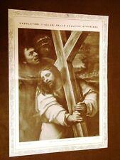 Gesù con la croce Opera di Sebastiano del Piombo