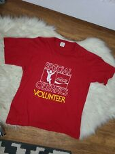 Vintage Coca-Cola T Shirt Red, Special Olympics , single stitch tee retro