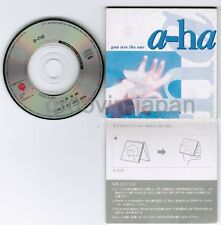"""A-HA You Are The One JAPAN 3"""" CD 09P3-6101 Snapped&Sleeve cut out FREE S&H/P&P"""