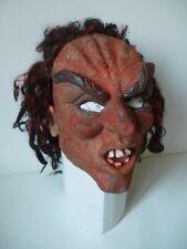 Masque souple ancien déguisement Halloween / César 1988