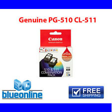 4x Canon Genuine Ink cartridges PG510  CL511 for Canon Printer PIXMA-MP240/MP250