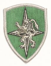 Army Patch:  NATO Allied Land Forces Central Europe - merrowed edge, med green