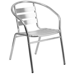 Flash Furniture Contemporary/Modern Dining Arm Chair (Metal Frame)