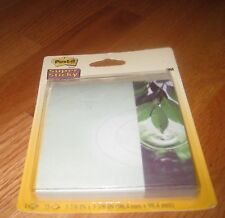 NEW Post-It Notes 3M Super Sticky Green Branch Leaf 1 pads 75 each You Choose