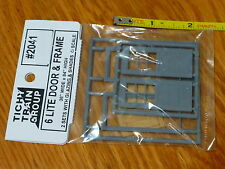 Tichy Train Group #2041 (O Scale) Door & Frame -- 6-Lite