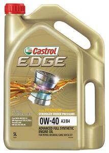 Castrol EDGE 0W-40 A3 B4 Engine Oil 5L 3383431 fits BMW M Series M3 (E92) 309...