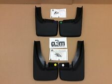 Dodge Ram Front & Rear Deluxe Molded Splash Guard Mud Flaps w/ Fender Flares new