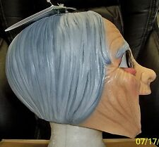 OLD LADY GRANDMA MOTHER CHINLESS LATEX MASK COSTUEM TB27508