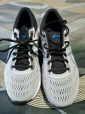Asics 1011A165 GEL-EXCITE 6 GREY ELECTRIC BLUE Men's Running Shoes 8 1/2