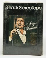 Vintage NOS 8 Track Tape Cartridge UNTESTED Sergio Franchi Tele House 1976