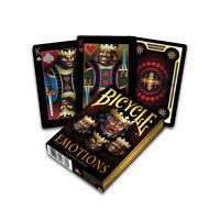 Bicycle EMOTIONS Spielkarten, Kartenspiel mit Tollem Motiv NEU !! Made in USA