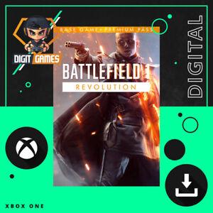 Battlefield 1 Revolution - Xbox One / Xbox Live Game / Digital Download