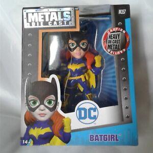"DC Batgirl 4"" Die Cast Metal Jada Collector Figure #M357"