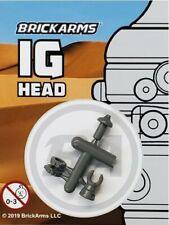 BrickArms IG-88 DROID HEAD for Lego Minifigures -NEW- Dark Gray Very Detailed!