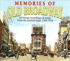 Various Artists : Memories Of Old Broadway: 60 Vintage Recordings of Songs From