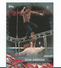 2017 Topps WWE DEAN AMBROSE # 24/25 - WWE Raw
